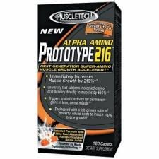 Аминокислоты MuscleTech-Alpha Amino Prototype 216 120caps