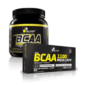 BCAA mega caps 1100 аминокислоты Olimp Labs