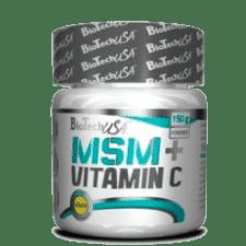 BioTech MSM+Vitamin C 150 грамм