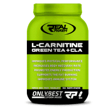 Real Pharm L-Carnitine, Green Tea + CLA (1350 mg) 90 tab