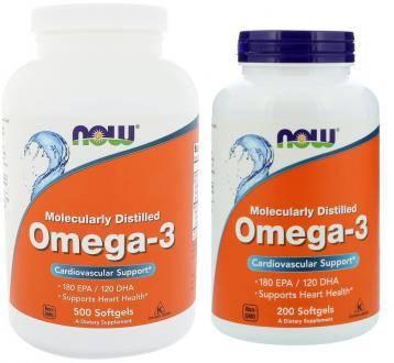 NOW Foods Omega 3 (НАУ фудс Омега 3)