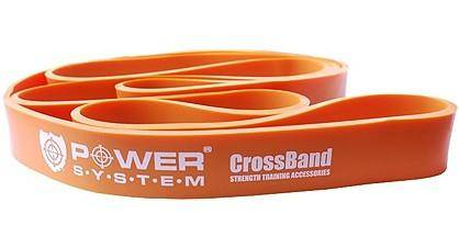 Резиновая петля 10-35 кг Power System CROSSFIT LEVEL 2 ORANGE PS-4052