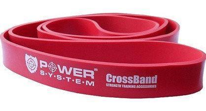 Резиновая петля 15-40 кг Power System CROSSFIT LEVEL 3 RED
