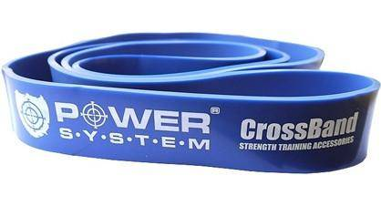 Резиновая петля 22-50 кг Power System CROSSFIT LEVEL 4 BLUE PS-4054