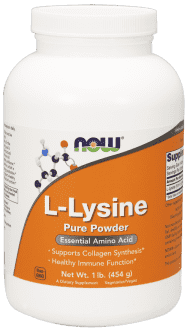 NOW L-Lysine Pure Powder