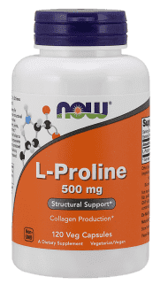 NOW L-Proline 500mg