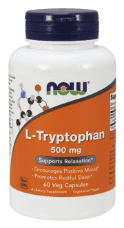 NOW L-Tryptophan 500 mg