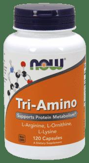 NOW Tri-Amino (Arginine, Ornithine, Lysine)