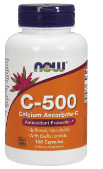 NOW C - 500 Calcium Ascorbate
