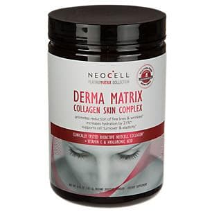 Derma matrix collagen skin complex