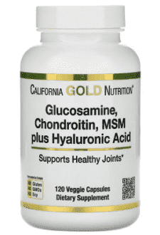 Glucosamine, Chondroitin, MSM Plus Hyaluronic Acid, California Gold Nutrition