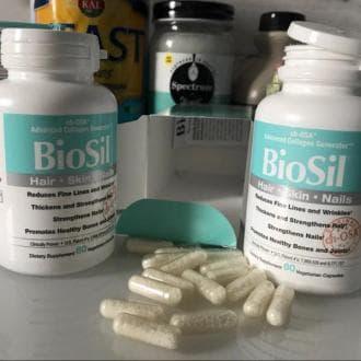 BioSil, Биосил, Коллаген активатор, Natural Factors