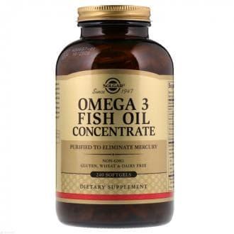 Солгар Рыбий жир в капсулах концентрат, Omega 3 Fish Oil Concentrate, Solgar