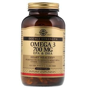Рыбий жир Соглар, Омега 3 (Omega-3), Solgar, 700 мг