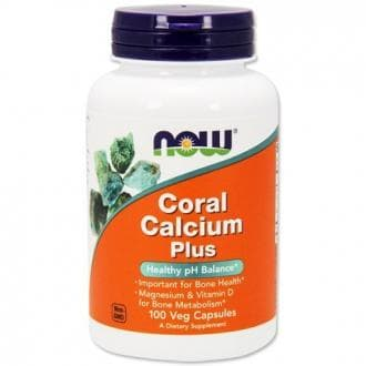 Coral Calcium Plus, Now Foods