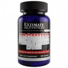 Аминокислоты Ultimate Nutrition-Arginine Pyroglutamate/Lysine100