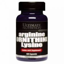 Аргинин Орнитин Лизин Ultimate Nutrition Arginine Ornithine Lysine
