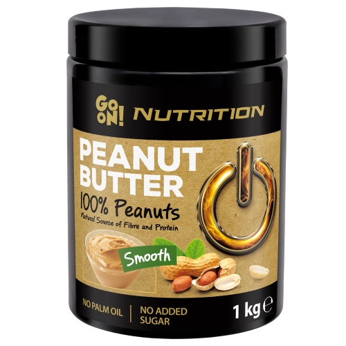 Peanut butter smooth 100% 1000 г