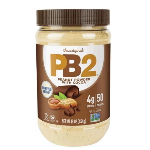 Порошковая арахисовая паста с какао - 454 г