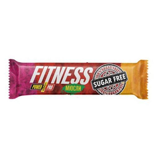 Батончик Fitness - мюсли ореховый (Sugar Free) - 50 г