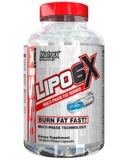 Lipo 6Х (Липо 6х) жиросжигатель Nutrex