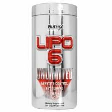 Lipo-6 Unlimited жиросжигатель Nutrex